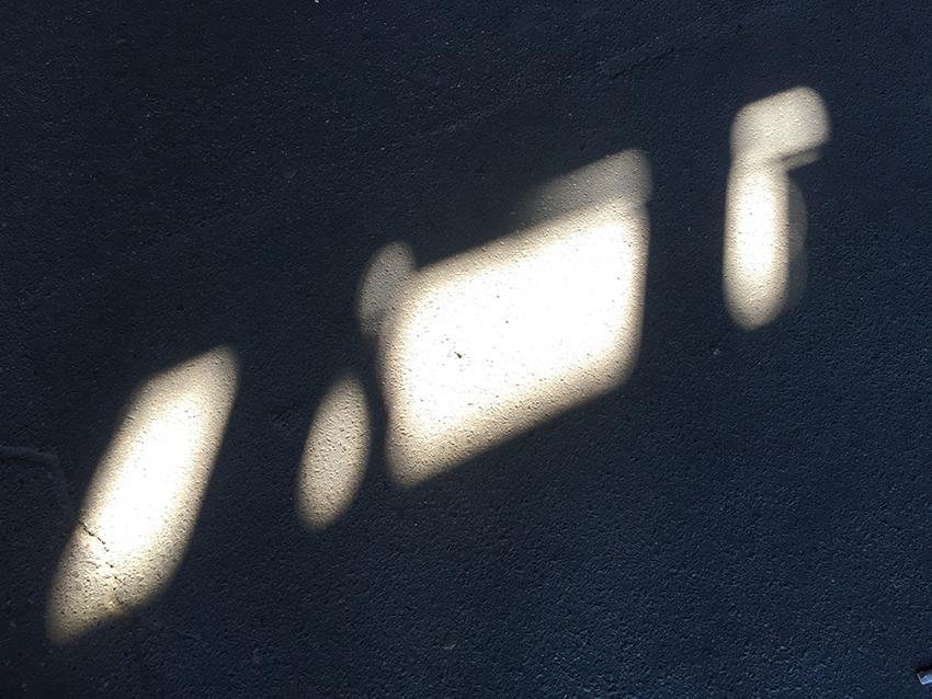Sun-Penetrations—Spoor (Track), 40x30 cm, Photography, 2016,