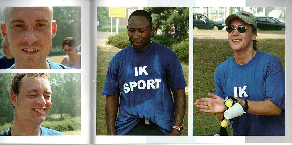 Kim Engelen, Book The Face of a Jogger. From the 10k Performance: The Life of a Jogger, 2003