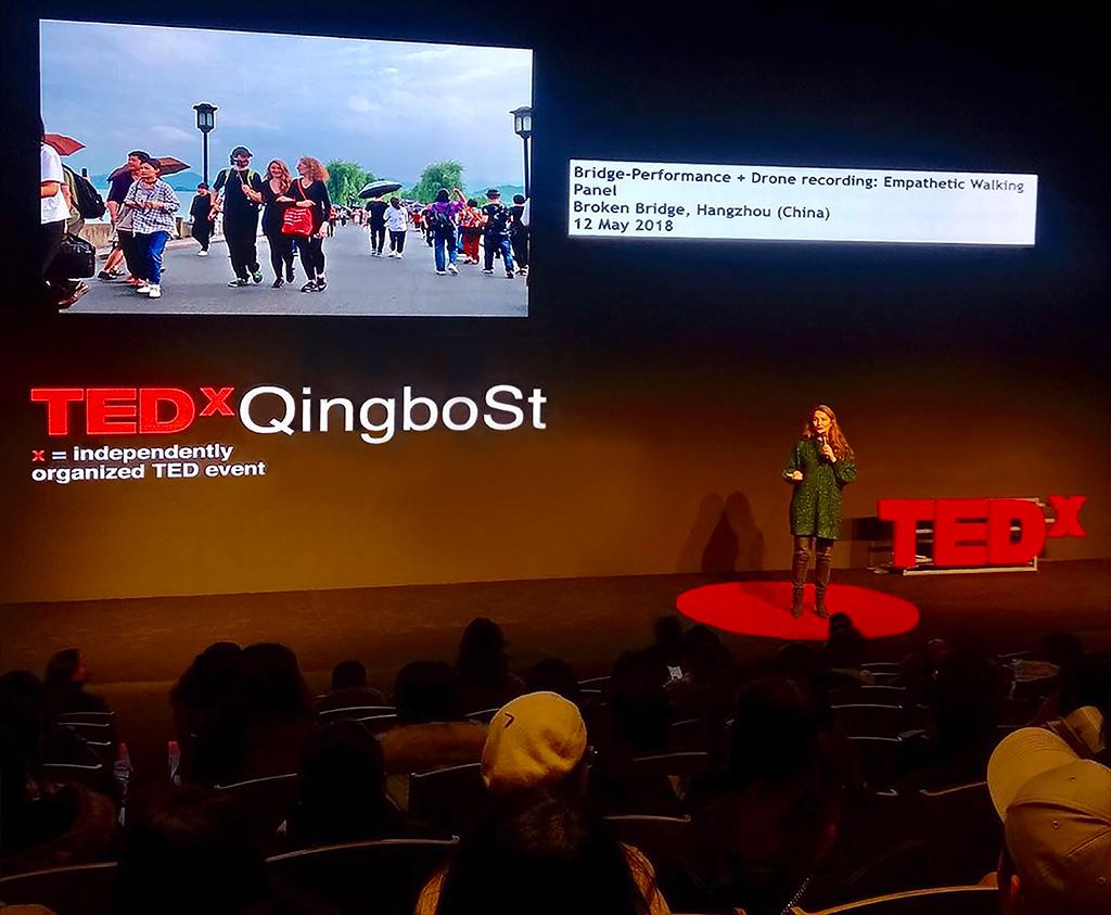 TEDx, The Future is Fluid - Future for Art, 2019, artist-talk