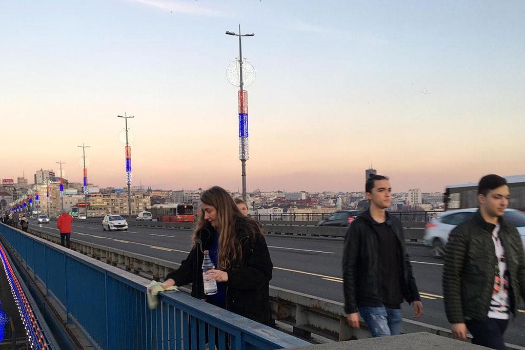 Belgrade Bridge Performance 15 February 2020 | 5:00 p.m. Branko's bridge, Serbia