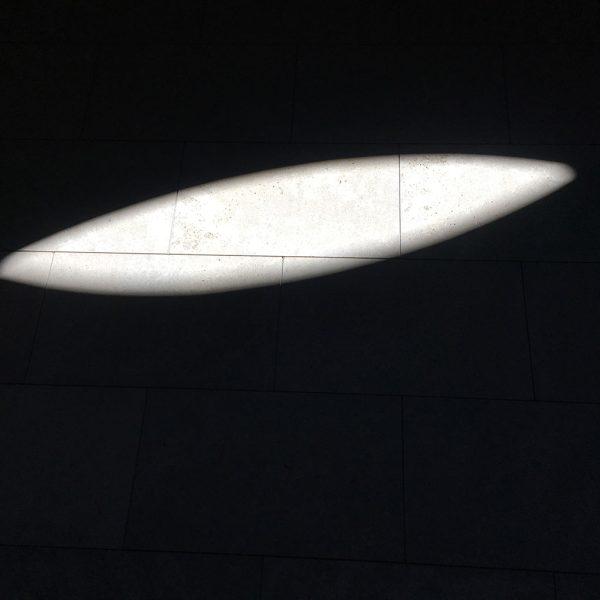 Sun-Penetrations—The Living Eye. Size: 24 x24 cm. Photography on Dibond