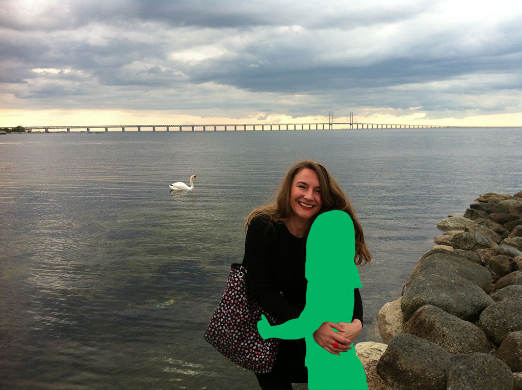 Kim Engelen [Bridges] THE INVISIBLES: Green, Øresundsbron (Hybrid name for The Öresund or Øresund Bridge) connecting Sweden and Denmark, 2013+2017