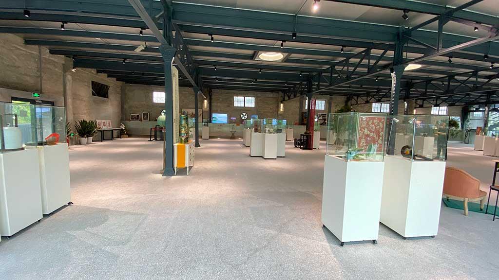 Kim Engelen, Yangpu River Museum, room-overview, 2020
