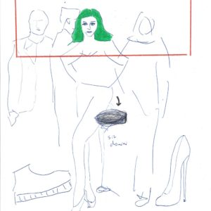 Kim Engelen, Confession Drawings, Walk The Talk, 2020