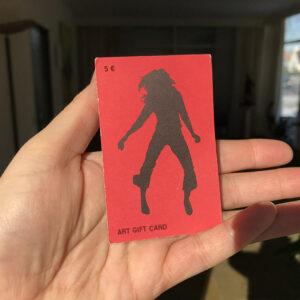 Kim Engelen, Art Gift Card, 5€