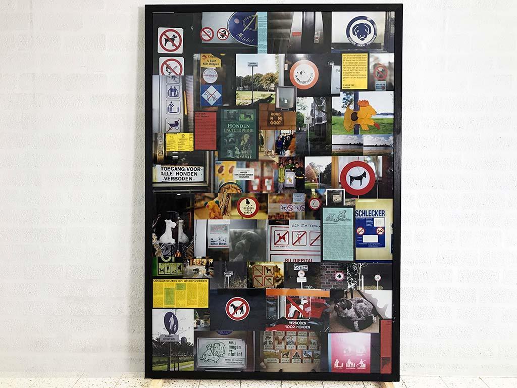 Kim Engelen, Dog Friendly Environment, total-shot, 178x121,4x5 cm, 1998