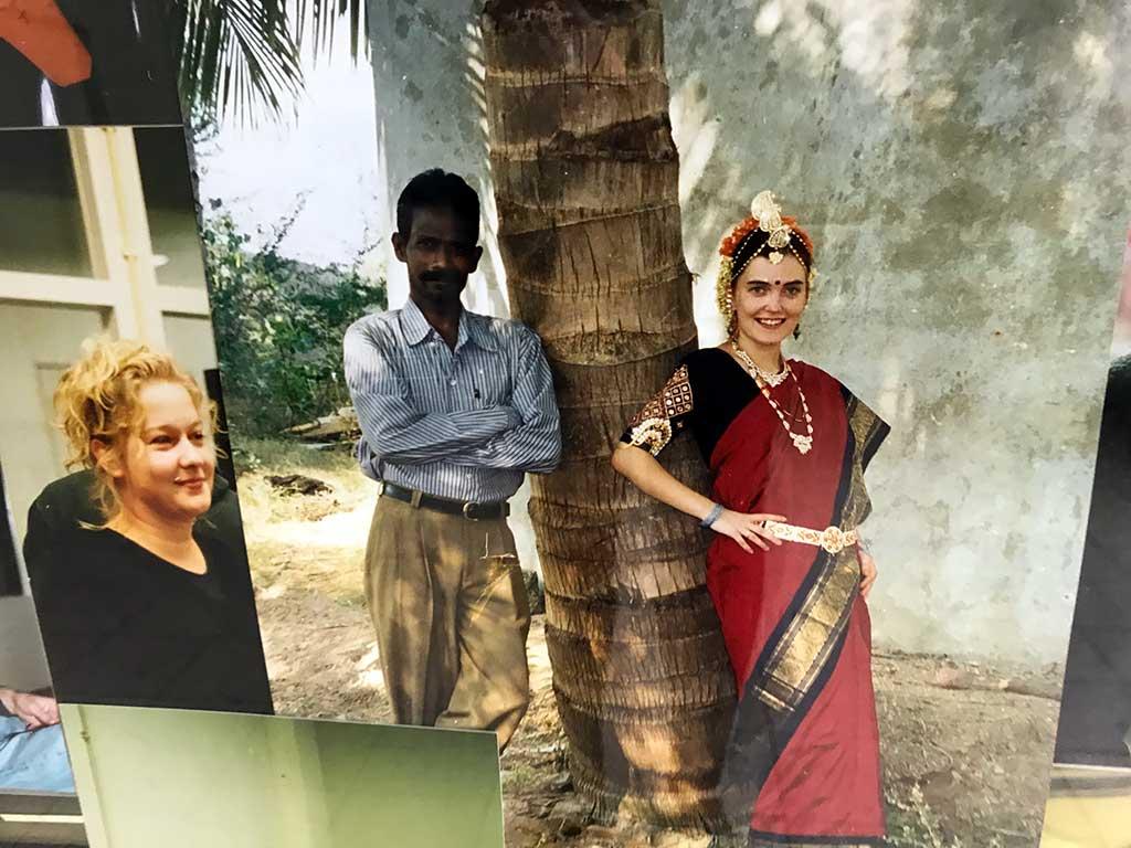 Kim Engelen, Collage Friends, detail-shot India, 178x121.4x5 cm, 1998
