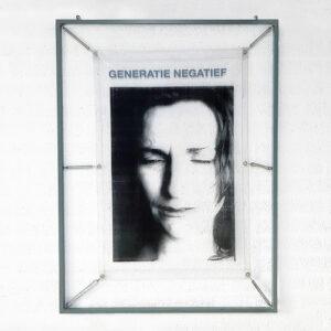 Kim Engelen, My Generation, Generatie Negatief (grey), artwork total-shot, 1998