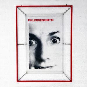 Kim Engelen, My Generation, Generatie Negative (red), artwork total-shot, 1998