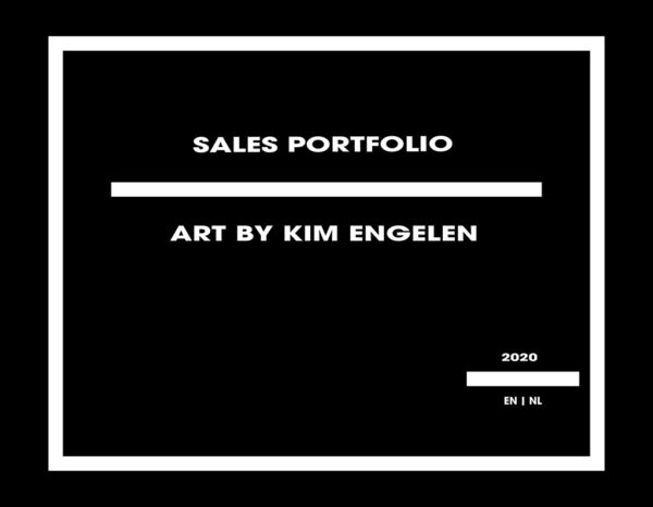 Kim Engelen, Front-cover, Sales Catalog, English | Dutch, 2020
