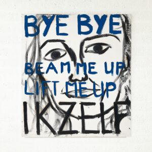 Kim Engelen, Myself (Bye Bye), Series Pronunciations, Oil on Canvas, Total-shot, 1997