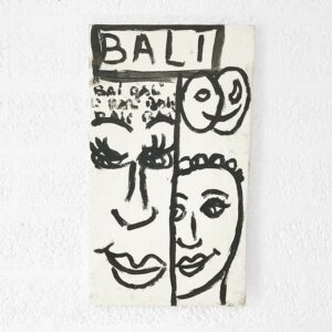 Kim Engelen, Bali Bali Bali No.1 (Small), Acrylic on Canvas, Total-shot, 1998