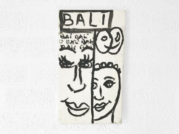 Kim Engelen, Bali Bali Bali No.1 (Small), Acrylic on Canvas, Total-shot, 1998