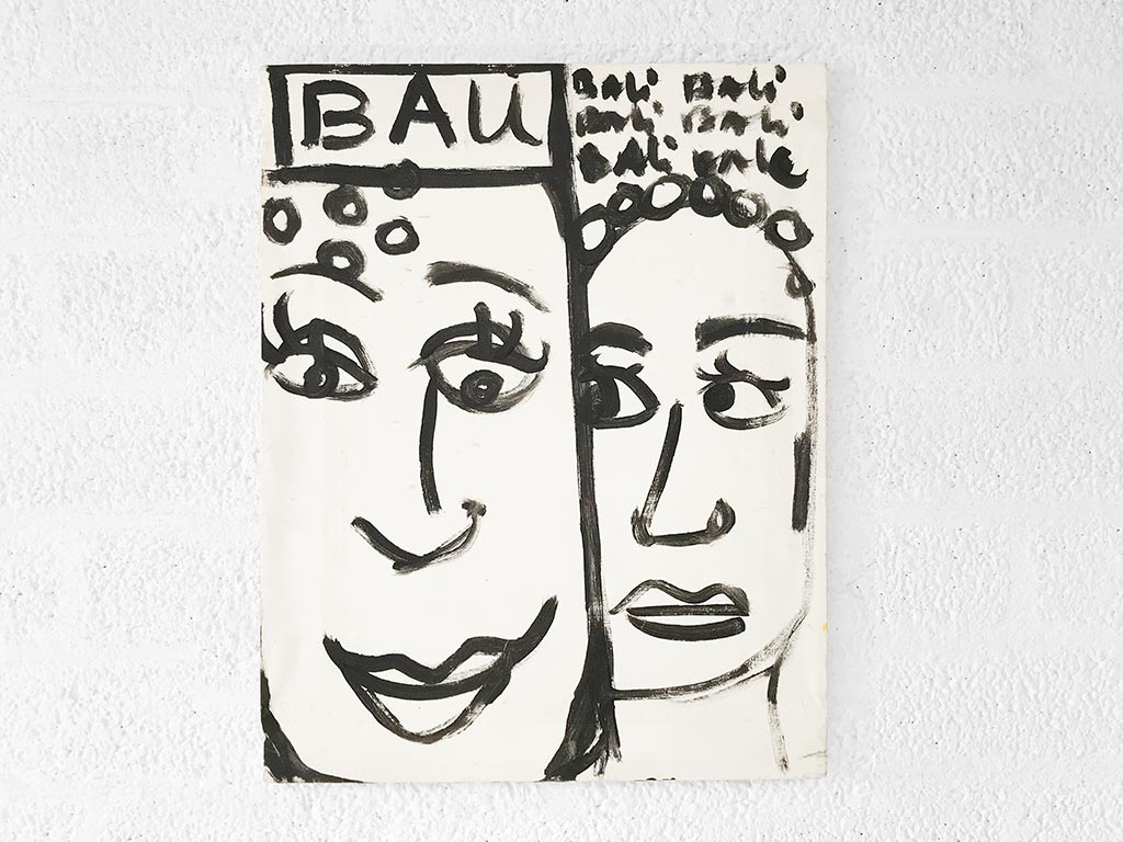 Kim Engelen, Bali Bali Bali No.2 (Medium), Acrylic on Canvas, Total-shot, 1998