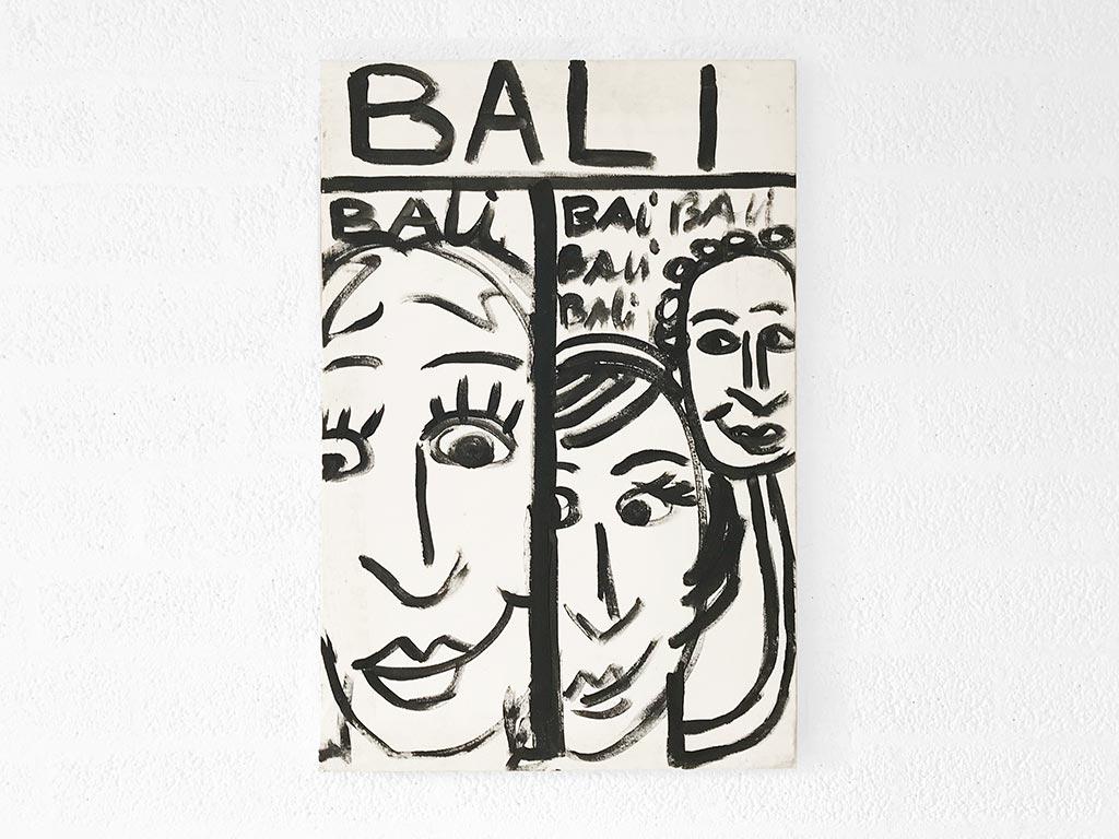 Kim Engelen, Bali Bali Bali No.3 (Large), Acrylic on Canvas, Total-shot, 1998