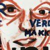 Kim Engelen, Chris, Series-Pronunciations, Oil on Canvas, Detailshot 2, 1997