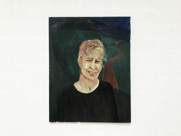 Kim Engelen, Corry (From the Series Marriage), Oil on Canvas, Total-shot, 1997