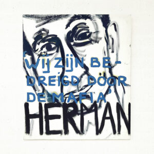 Kim Engelen, Herman, Series Pronunciations, Oil on Canvas, Total-shot, 1997
