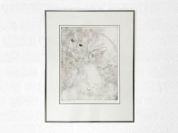 Kim Engelen, Ilse & Gerben—Detail (No.4), Etching, 1997