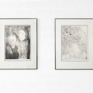 Kim Engelen, Ilse & Gerben—Variation and Ilse & Gerben—Detail, Etching, Overview-shot, 1997