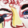 Kim Engelen, Mara & Patrick, Oil on Canvas & Photos, Detail-shot 4, 1997