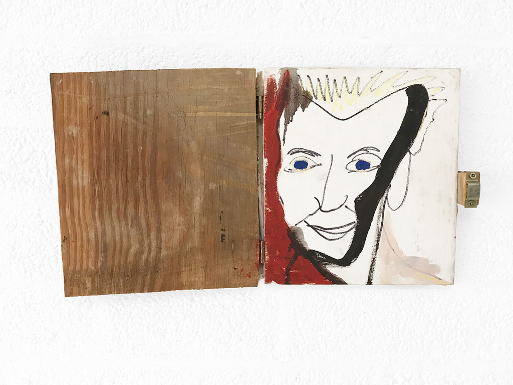 Kim Engelen, Vriendschap (Friendship), Oil and Acrylic on Canvas, Total-shot, Opened, 1997