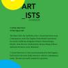 Kim Engelen, 5 Artists Interviews, #2 The Open Call, Back-Cover, 2021