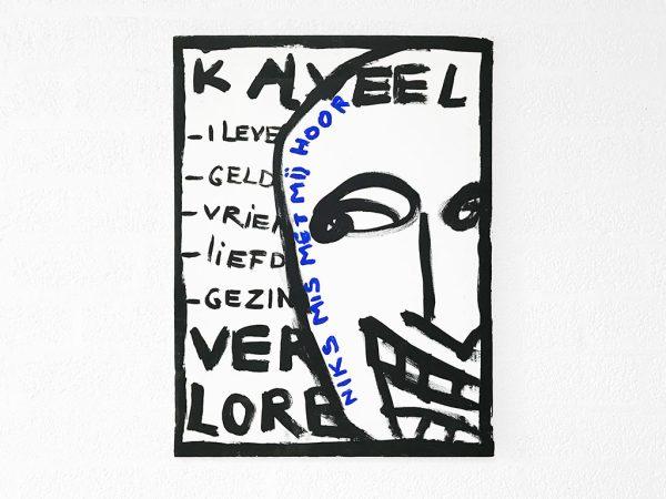 Kim Engelen, I already Much (Ik al Veel), Acrylic on Regular Stretched Canvas, 1998