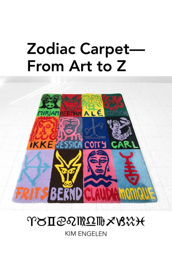 Kim Engelen, Zodiac Carpet—From Art to Z, Front-page, 2021