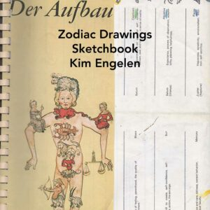 Kim Engelen, Zodiac Drawings Sketchbook, Front-page, 28 pages total, 1998
