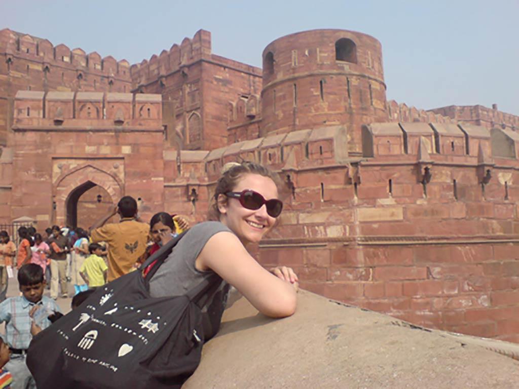 Kim Engelen, Bridges-Performances, Lal Qila (Red Fort) Red Fort Bridge, No.1, Agra, India, 2008