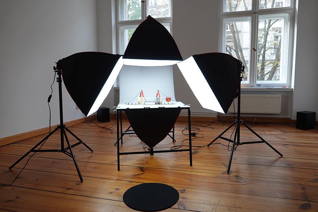 Kim Engelen, Production-room #1, Total-Shot, Berlin, Germany, 2019