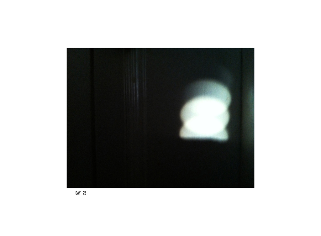 Kim Engelen, Sun-Penetrations, Quarantine: 40 Days of Isolation, Day 25, 2020