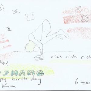 Kim Engelen, Happy Birthday Art Project, Ousmane Kirsi, 33 Years, 6 May 2021