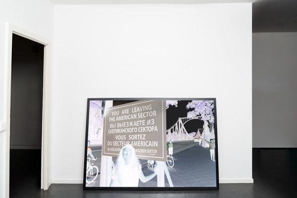 Kim Engelen, The Negative aka The Bridge-of Spies, Ongoing project Bridges, Berlin, Germany, 2017