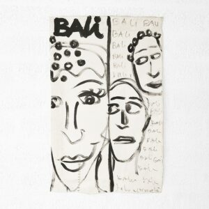 Kim Engelen, Bali Bali Bali No.4, Acrylic on Canvas, 1998