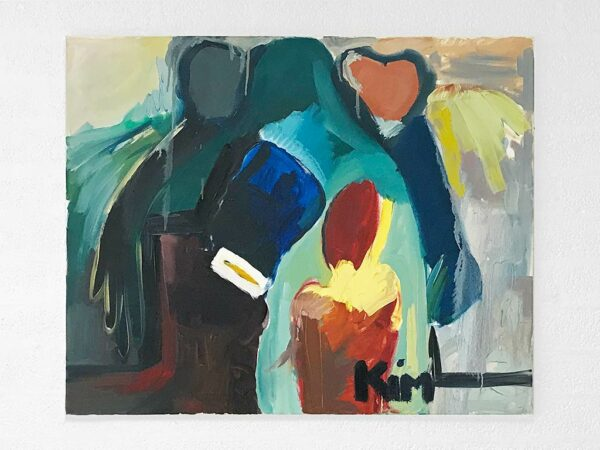 Kim Engelen, Family Engelen, Oil on Regular Stretched Canvas, 1997