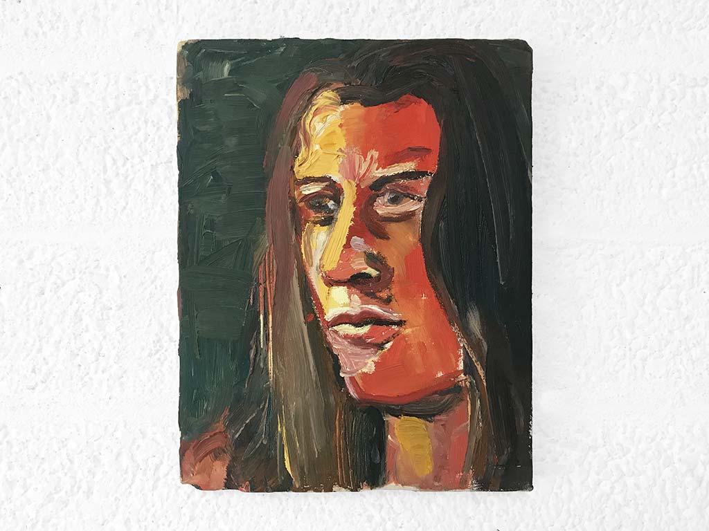 Kim Engelen, Ira(Small-Sun), Oil on Canvas, 1997
