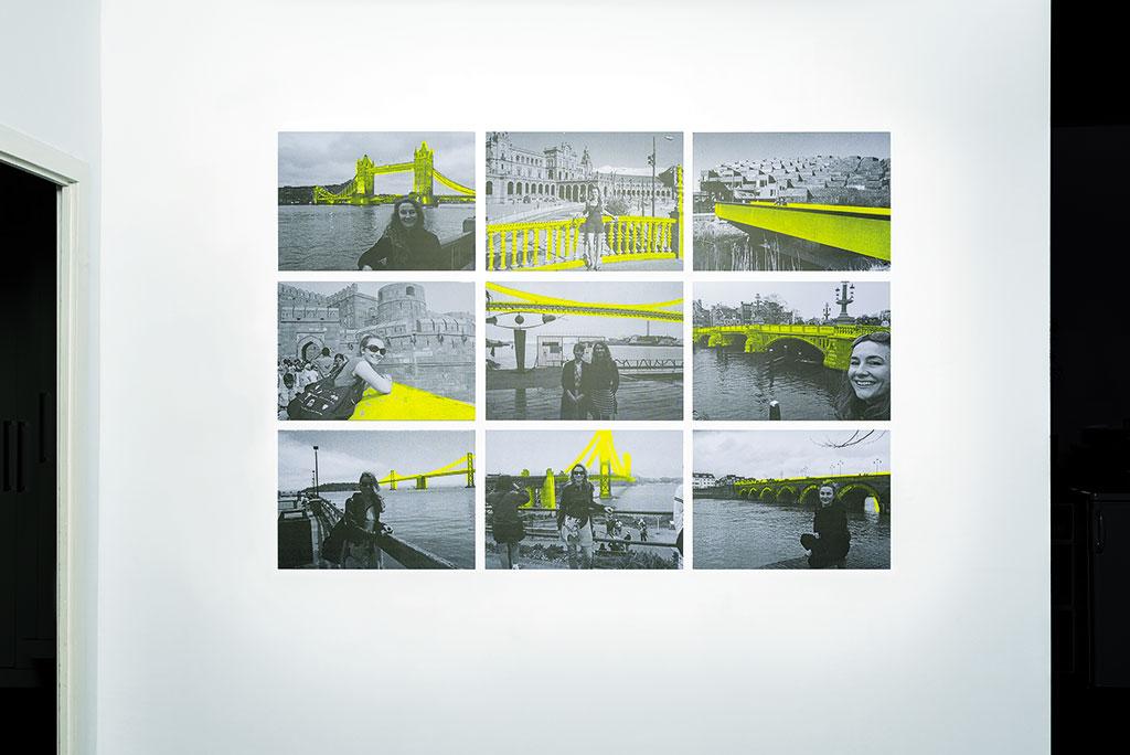 Kim Engelen, Markers, Total-view, Berlin, Germany, 2017
