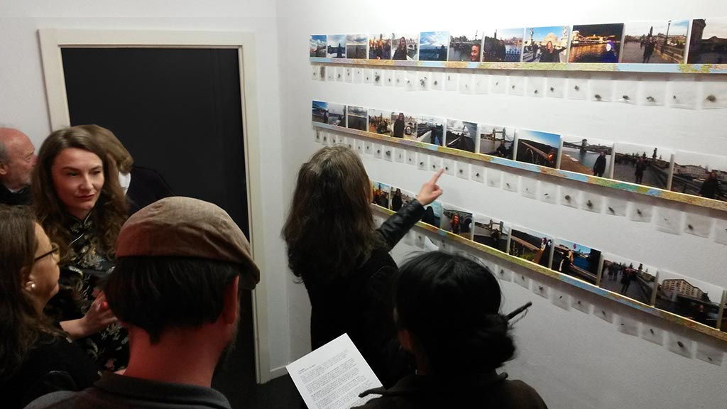 Kim Engelen, Opening night, Mistakes, Ongoing Bridge Project, Berlin, Germany, 2017
