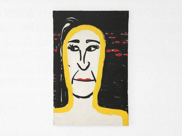 Kim Engelen, Party Lip, Acryl on Canvas, 1998