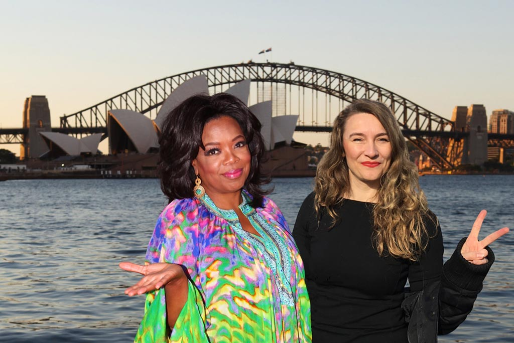 Kim Engelen, Stars we navigate by and Giants we build on (Oprah+Kim), Berlin, Germany, 2017