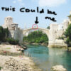 Kim Engelen, The Gift, Stari-Most (Old Bridge) Mostar, Bosnia and Herzegovina, 2017