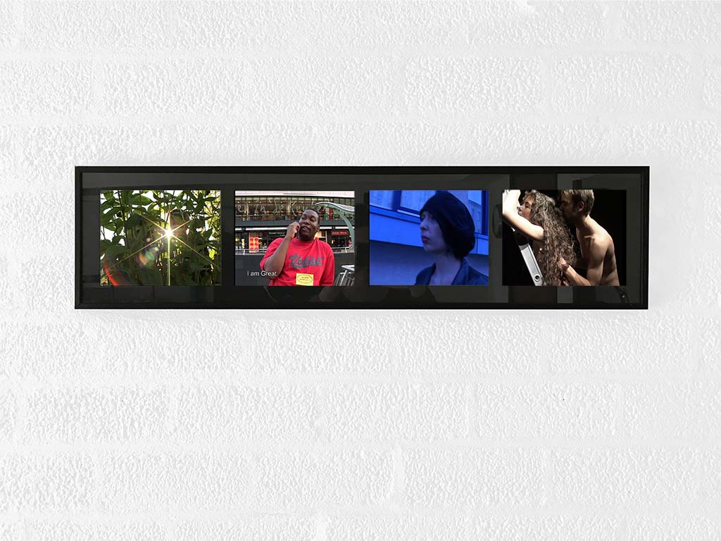 Kim Engelen, Video Stills Series No.1 (L&V, Great, Jade, L&V), 2005
