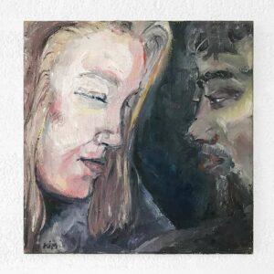 Kim Engelen, Sascha & Pieter, Oil on Canvas, 1995