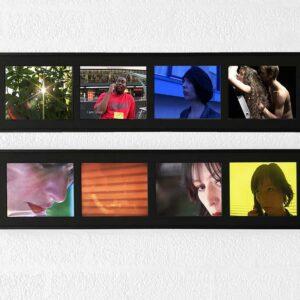Kim Engelen, Video-stills No.1 + No.2 (Smart-Bundle), 2005