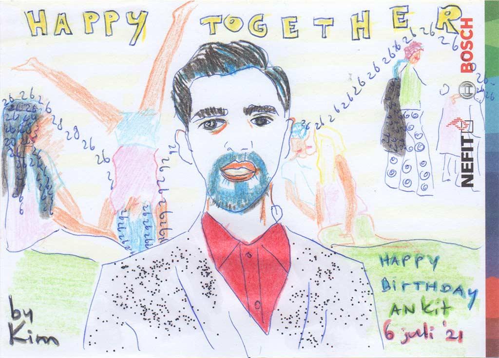 Kim Engelen, Happy Birthday Ankit Gupta, 6 July 2021