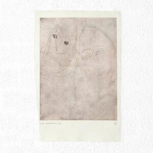 Kim Engelen, Ilse & Gerben—Detail No.5, Etching, 1997