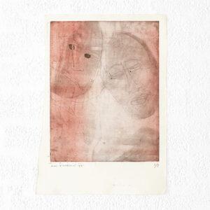 Kim Engelen, Ilse & Gerben—Detail No.6, Etching, 1997