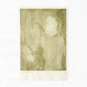 Kim Engelen, Ilse & Gerben—Variation No.1, Etching, 1997